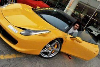 Dhiaa Al-Essa Ferrari 458 Italia