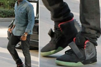 Kanye West's Limited Edition Nike sneakers 1