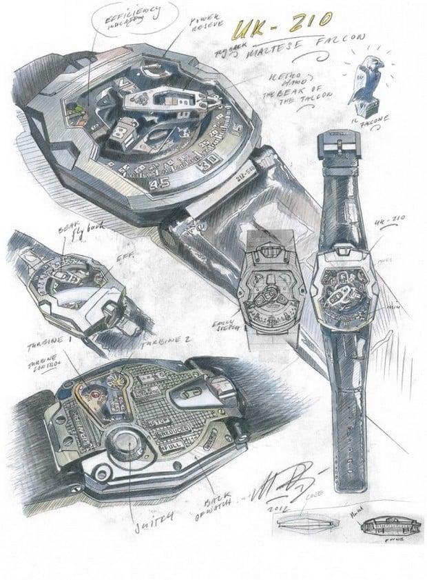 """The Urwerk UR-210 """"Maltese Falcon"""" Watch 4"""