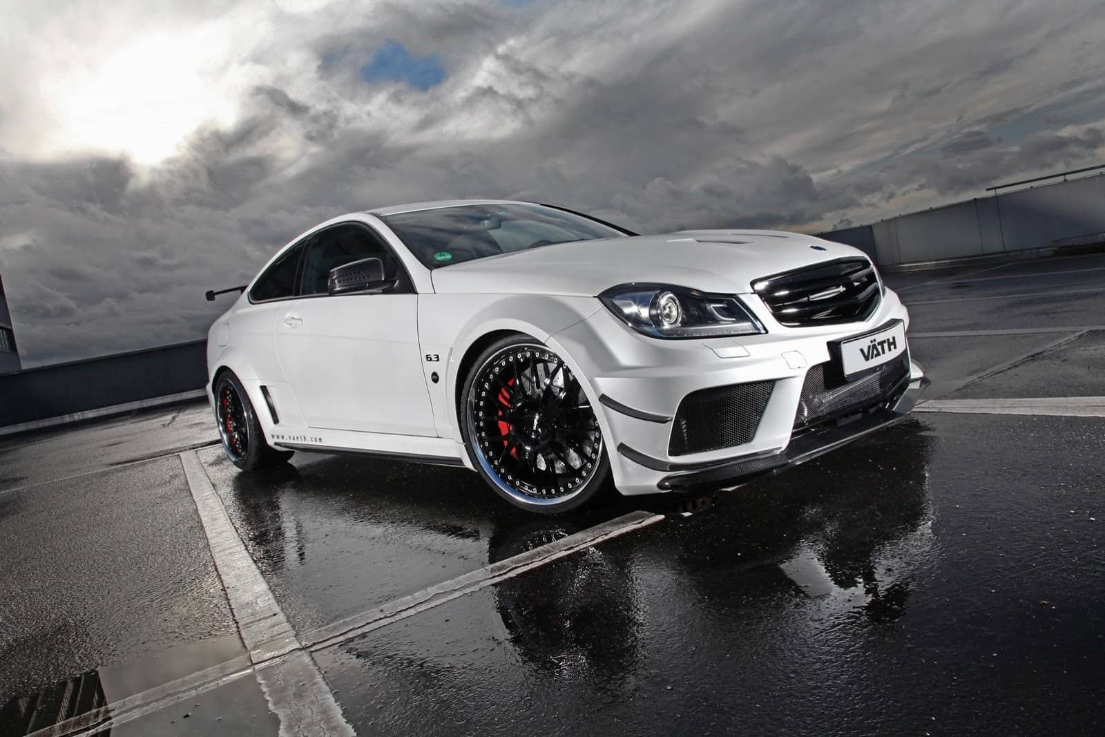VTH refines the Mercedes C63 AMG Coupe Black Series
