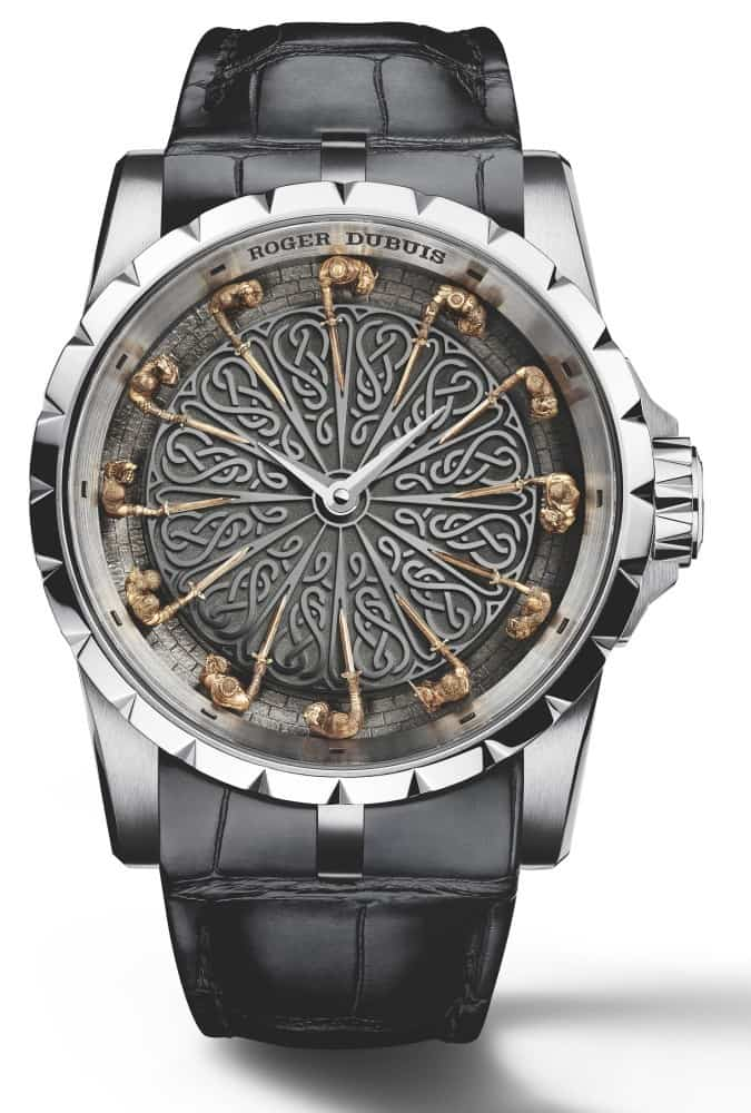 The Roger Dubuis Knights Of, Round Table Watch
