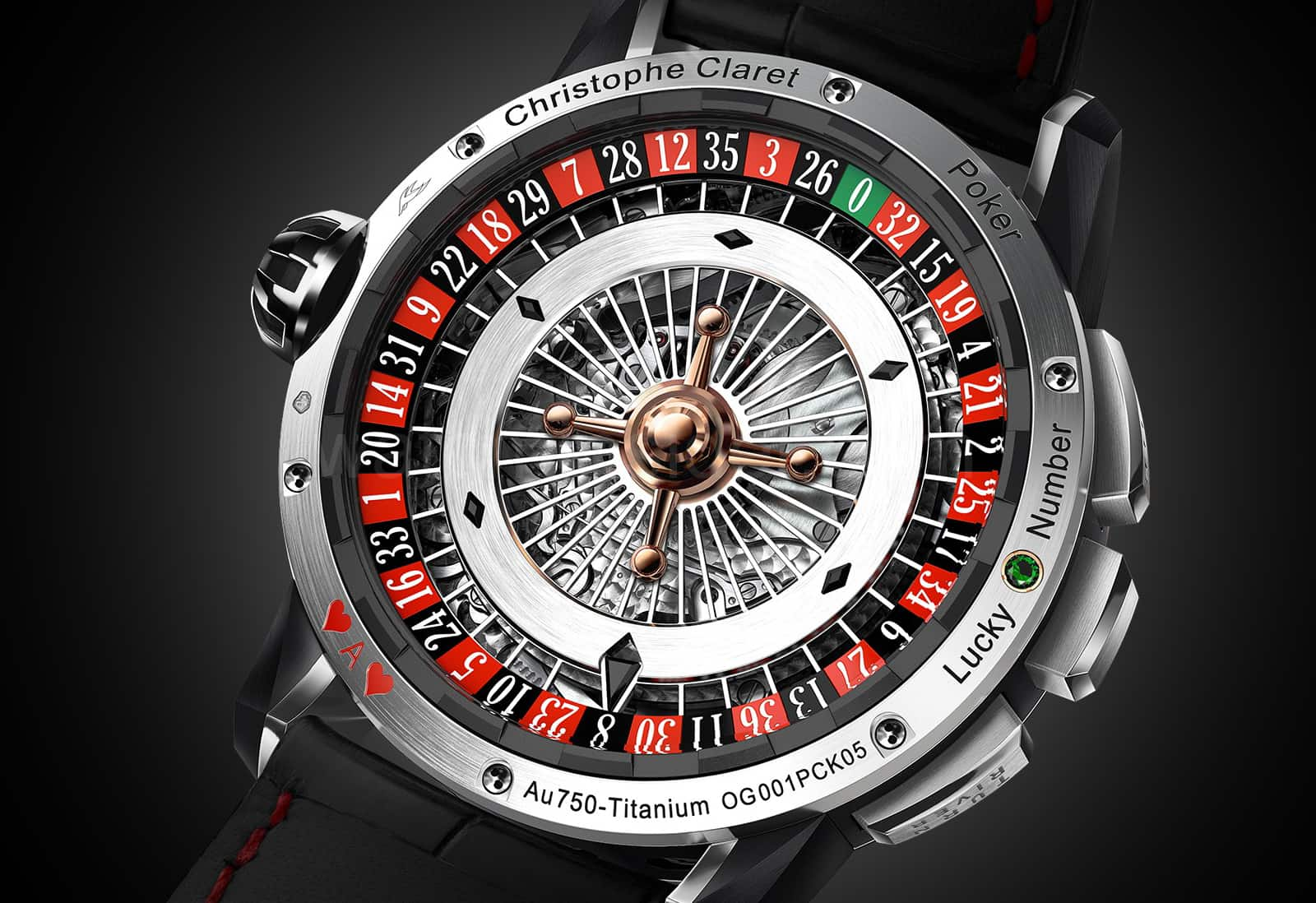 Christophe Claret's Poker Watch