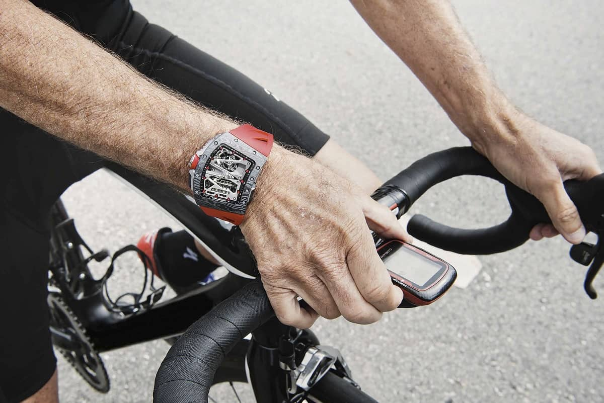 Richard Mille RM 70-01 Tourbillon Alain Prost 'Cycling' 4