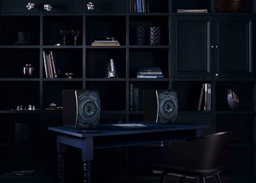 "Audio Art: KEF's LS50 Wireless ""Nocturne"" by Marcel Wanders"