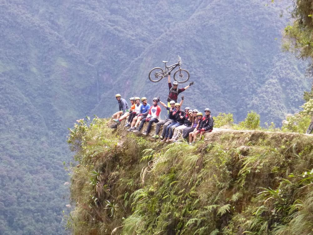 Biking Bolivia's Death Road