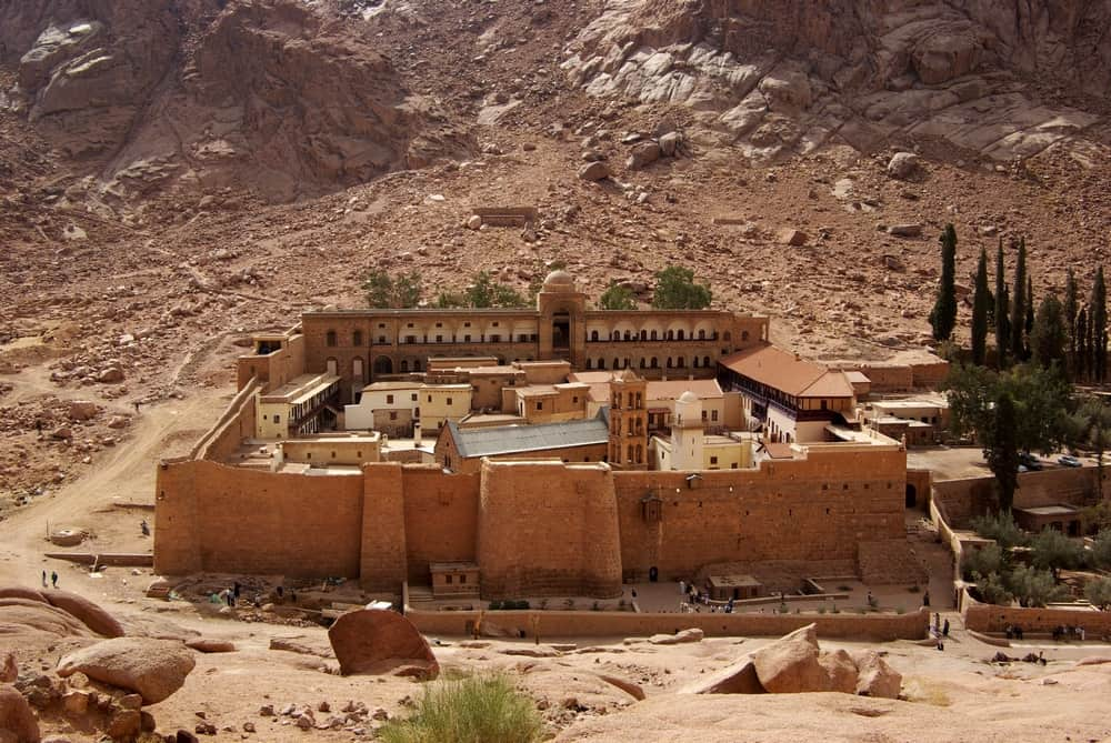 St. Catherine's Monastery in South Sinai