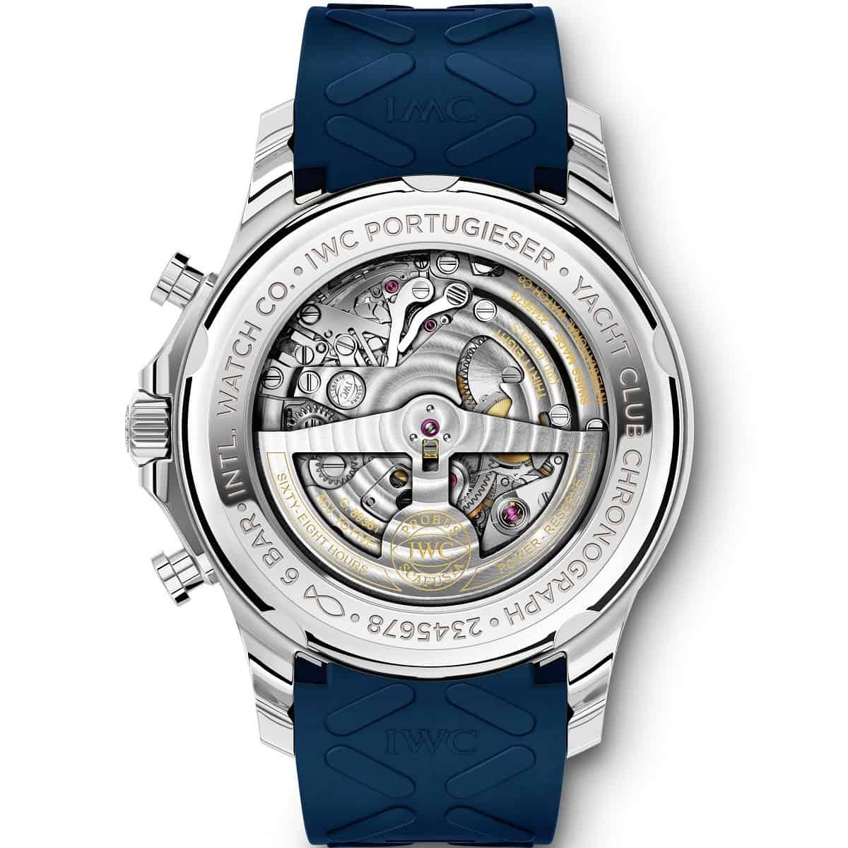 IWC Portugieser Yacht Club Chronograph 'Summer Edition' 3