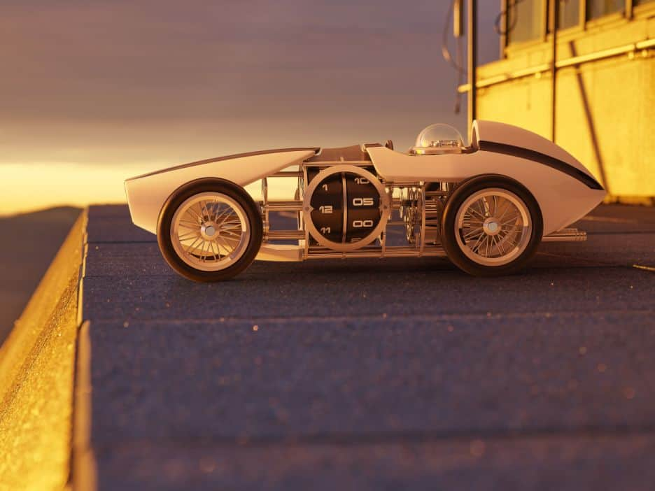 L'Epée 1839 Time Fast D8 Reminds Us of the Race Cars of the Past