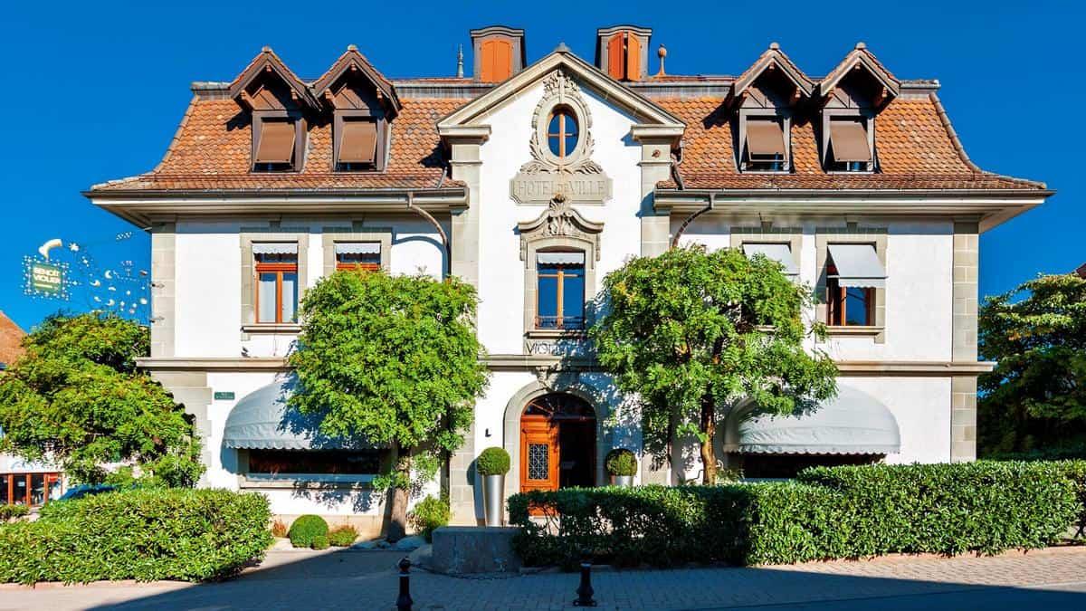 Restaurant de l'Hôtel de Ville – Crissier, Switzerland