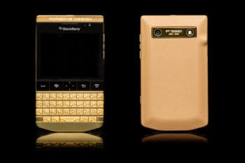 Goldgenie BlackBerry Porsche P'9981 1
